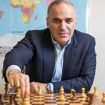 Idrott och schack hans stora passion